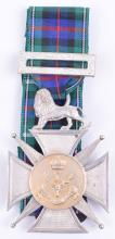 Hallmarked Silver Regimental Shooting Medal Awarded to Lance Corporal J Stevens 7th Battalion Seaforth Highlanders Who Was Awarded Distinguished Conduct Medal and Killed in Action 12th October 1916