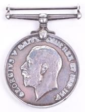 Great War British War Medal of Neutralised Russian Jewish Immigrant Albert Zeligman, Served with Reserve Regiment of Cavalry, Royal Bucks Hussars and the Machine Gun Corps in India