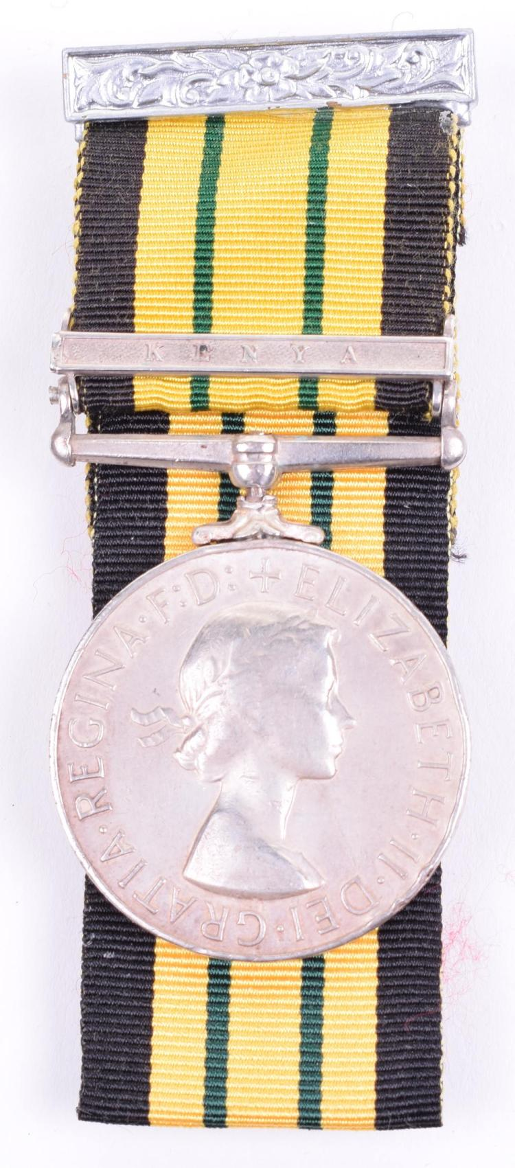 Africa General Service Medal 1902-56 Single Clasp Kenya