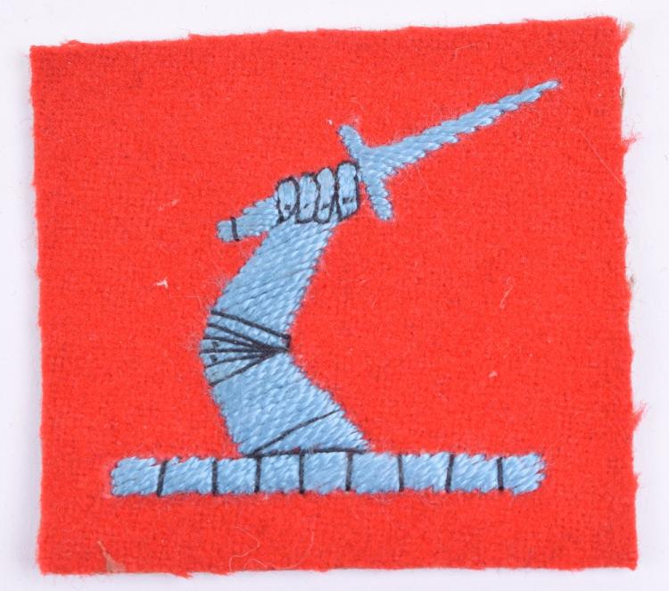 2nd Anti-Aircraft Corps Cloth Formation Sign