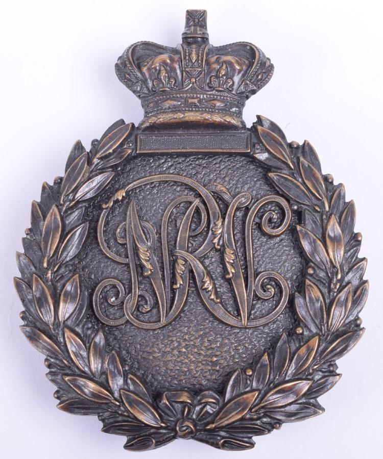 Northamptonshire Rifle Volunteers NCO's Pouch Plate