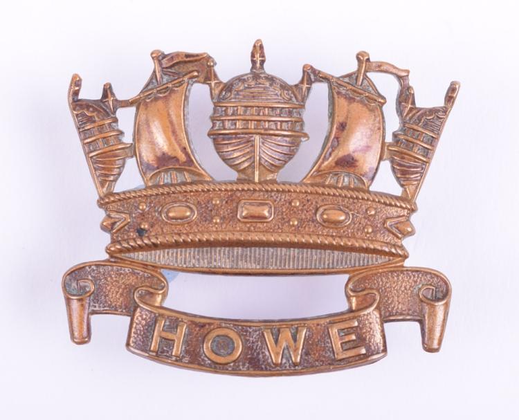 WW1 Royal Naval Division Howe Battalion Cap Badge