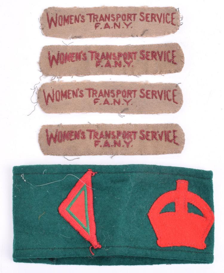 Woman's Land Army (WLA) Armband,