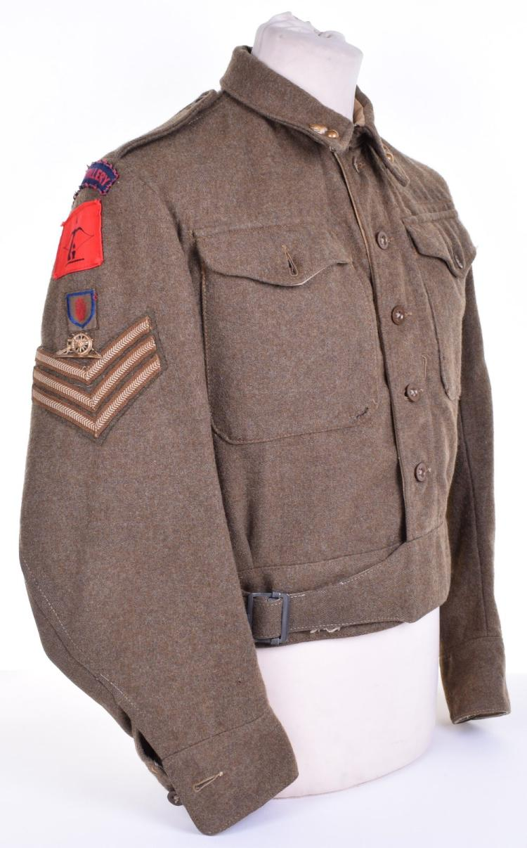 8th (Belfast) Heavy Anti-Aircraft Regiment Royal Artillery Battle Dress Blouse