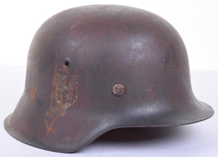 Waffen SS M-42 Steel Combat Helmet
