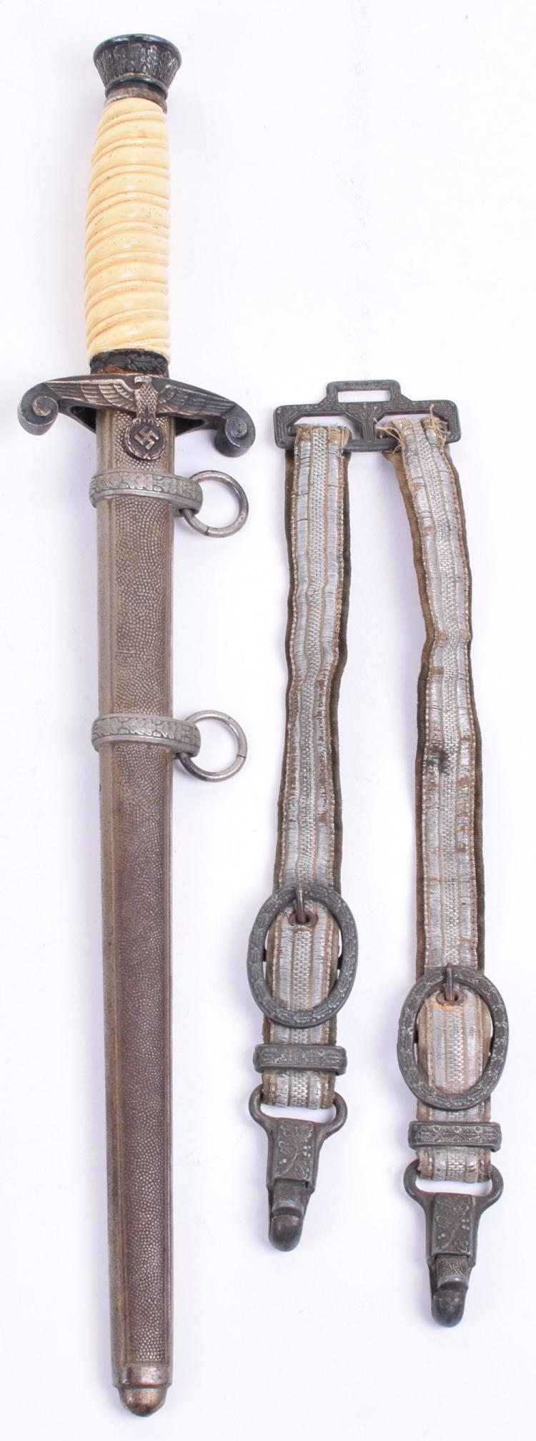 German Army Officers Dress Dagger With Hangers