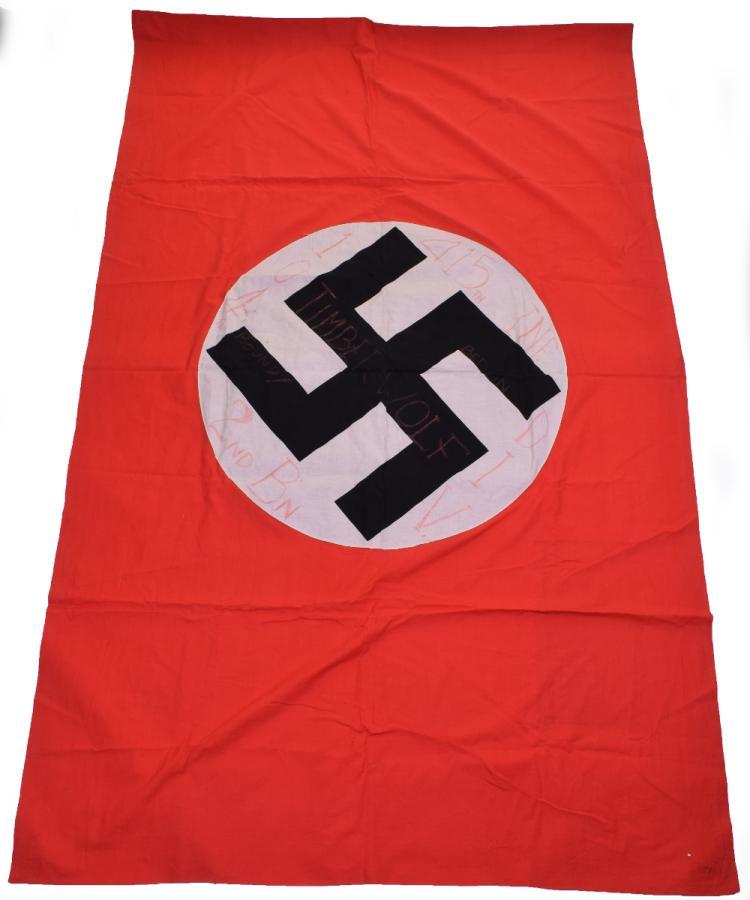 Captured NSDAP Party Flag