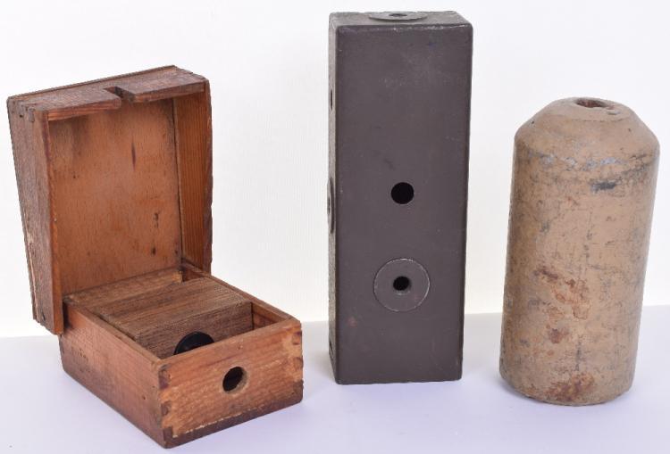 """WW2 German Concrete """"Stock"""" Mine"""