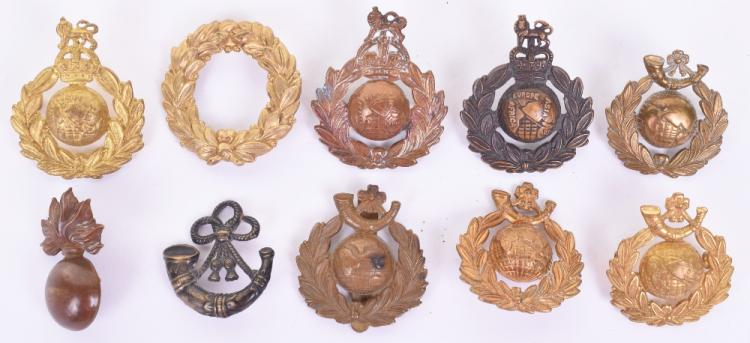 Selection of Royal Marines Cap Badges,