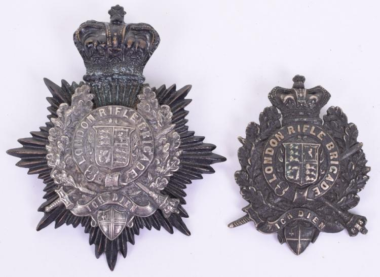 London Rifle Brigade Shako Badge