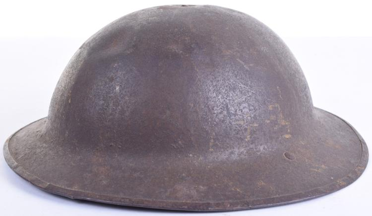 "WW1 British ""B"" Pattern Brodie Steel Helmet,"