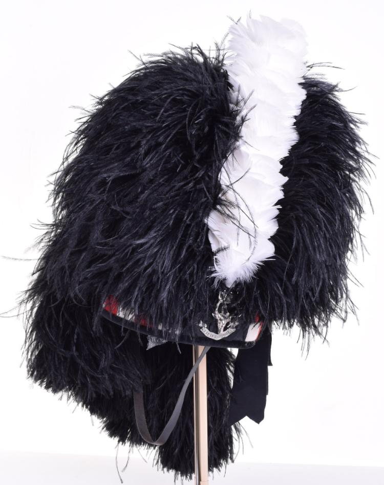 Seaforth Highlanders Feather Bonnet