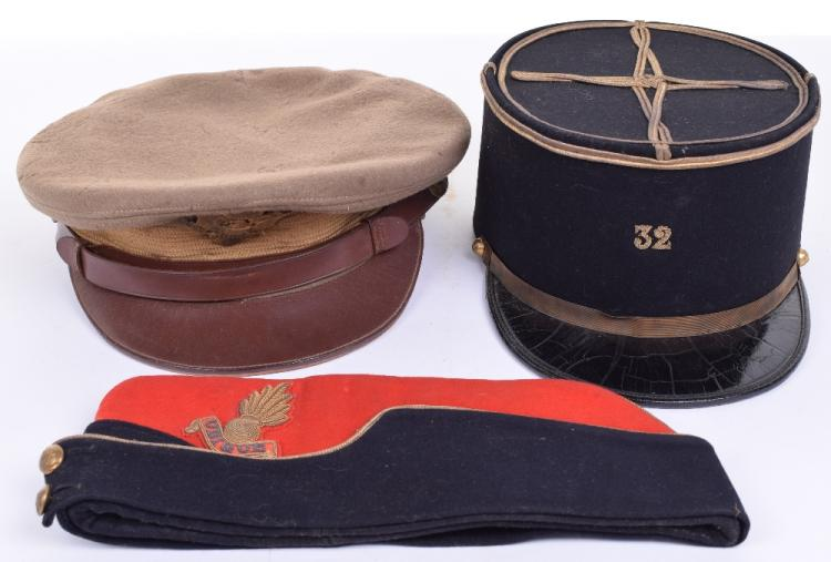 WW2 American Officers Peaked Cap
