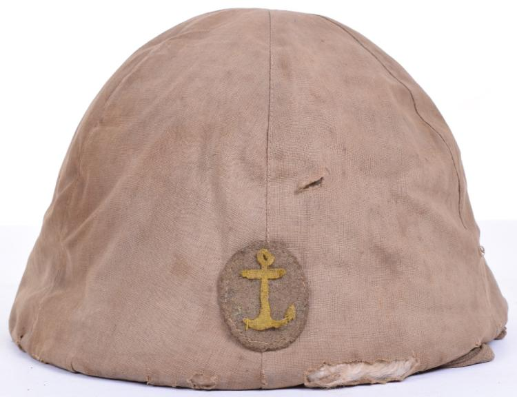 WW2 Japanese Naval Landing Forces Steel Combat Helmet