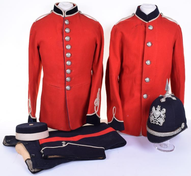 Victorian Royal Engineers Volunteers (Weymouth College) Other Ranks Full Uniform and Headdress