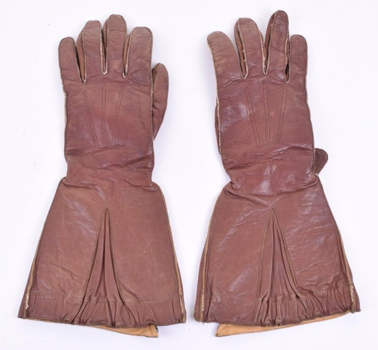 WW2 Royal Air Force 1941 Pattern Flying Gauntlets