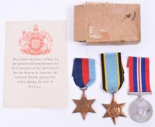 WW2 Royal Air Force Air Crew Europe Group of Three