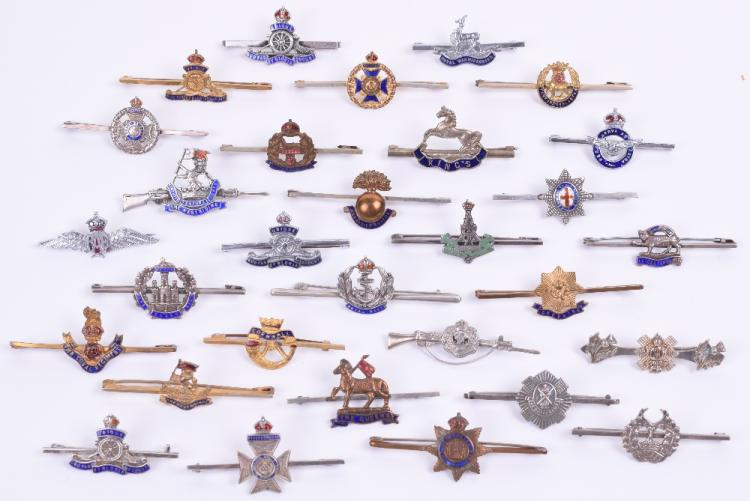Selection of Sweetheart Brooches / Tie Pins
