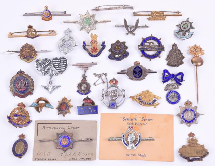 Selection of Sweetheart Brooches