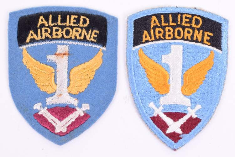 1st Allied Airborne Division Formation Signs