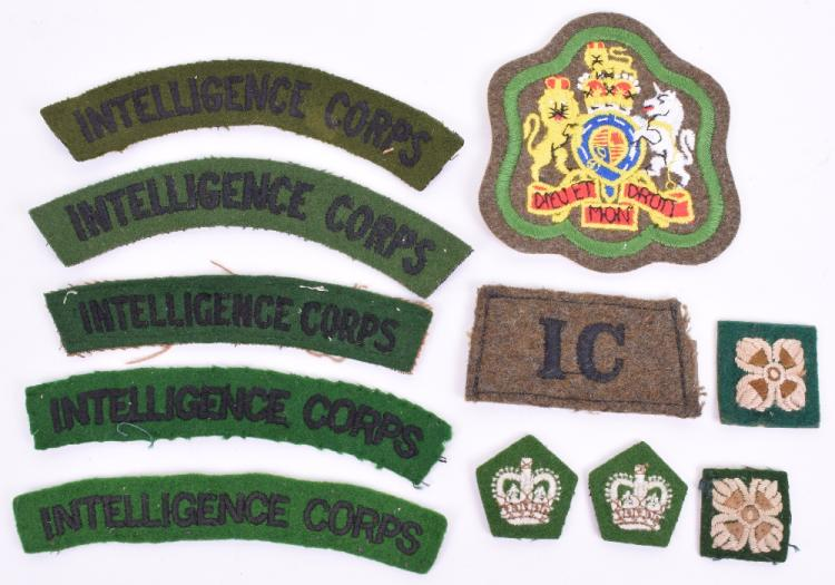 Cloth Insignia of the Intelligence Corps