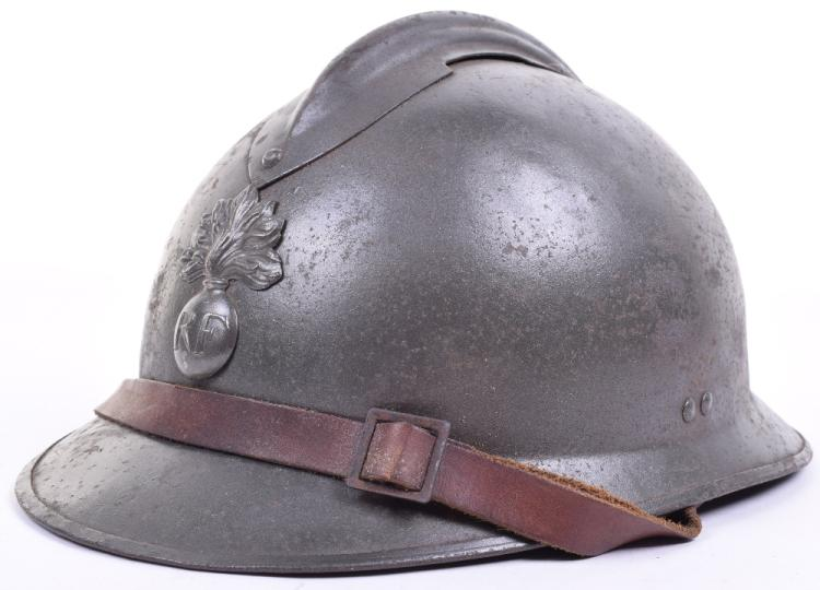 1926 Pattern French Infantry Adrian Pattern Steel Combat Helmet