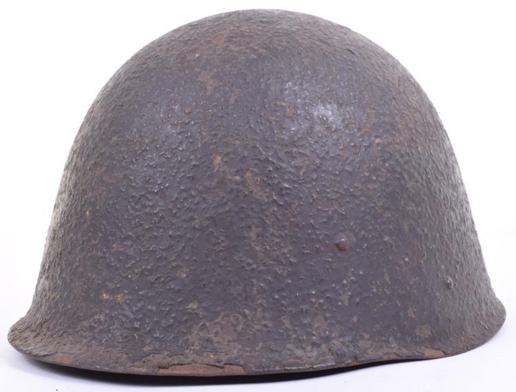 Rare WW2 Polish wz31 Pattern Steel Combat Helmet