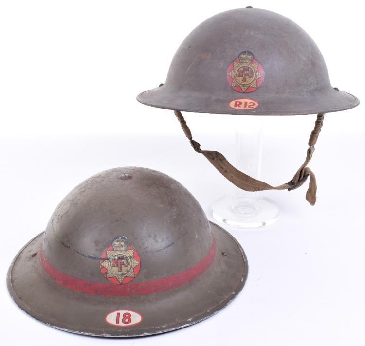 WW2 British Home Front National Fire Service Steel Helmet