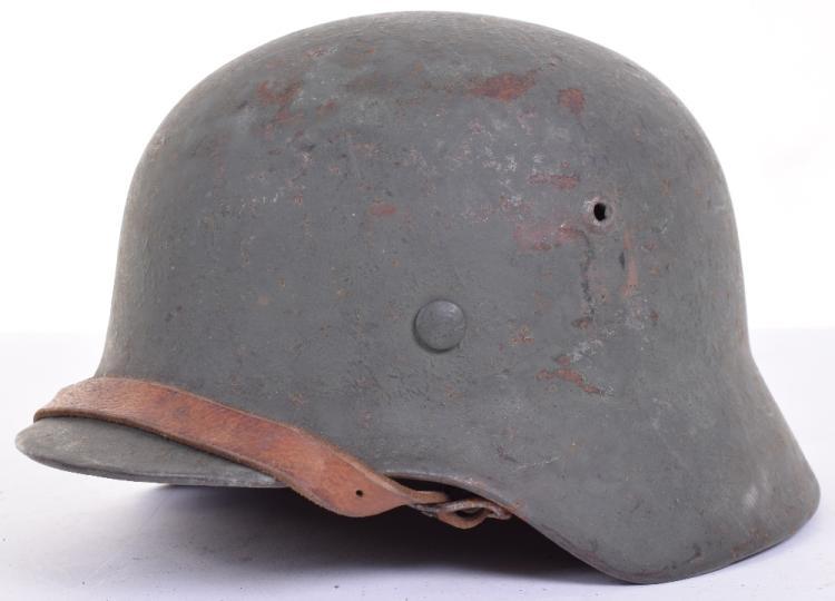 WW2 German Army M40 Pattern Steel Combat Helmet