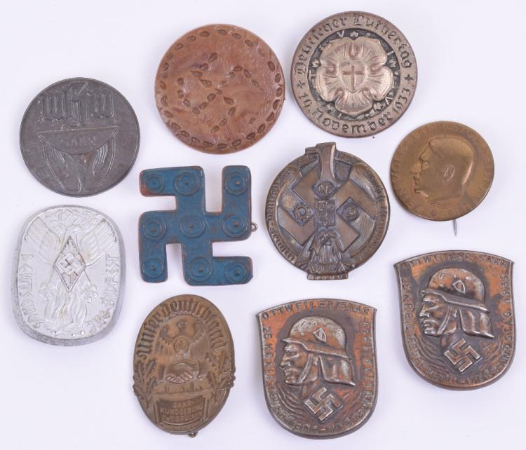Selection of Third Reich Rally / Day Badges