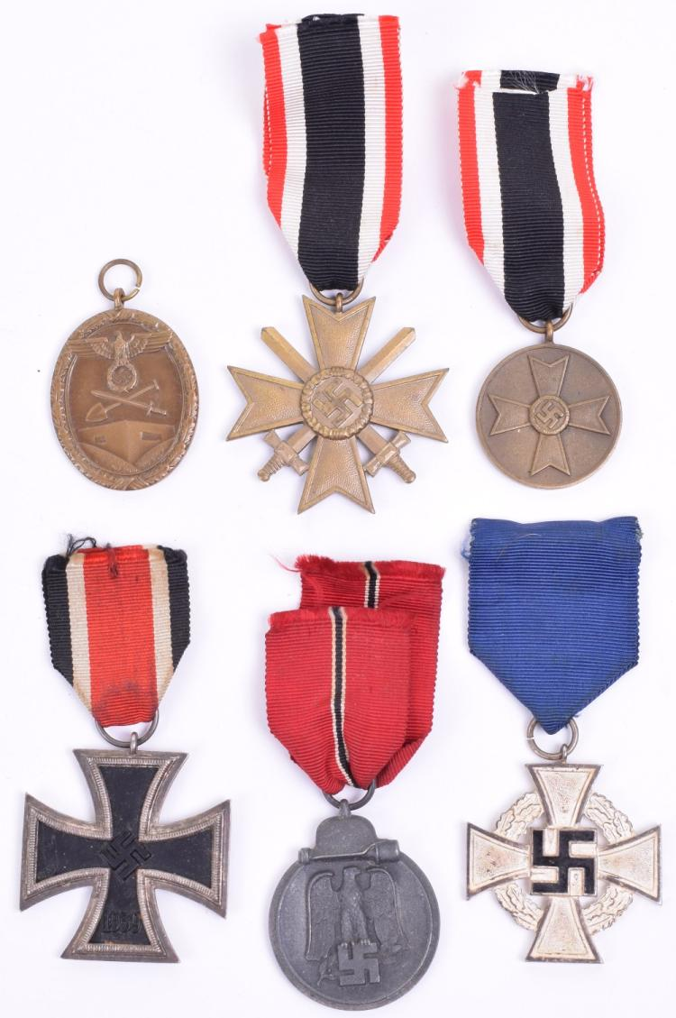 Selection of Third Reich Medals