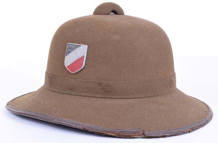 Third Reich Afrika Korps Tropical Pith / Sun Helmet