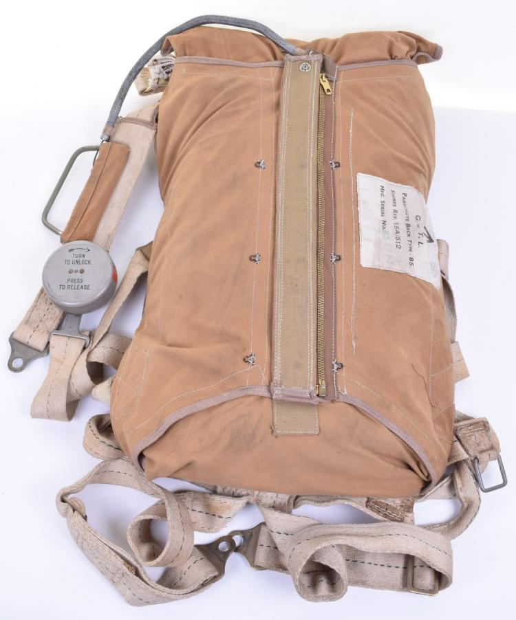 WW2 Royal Air Force Type B5 Parachute & Harness