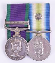 Falklands War Campaign Medal Pair to the Scots Guards, 2nd Battalion Scots Guards Famously Bayonet Charged the Argentine Forces During the Battle of Mount Tumbledown on the Night of 13th / 14th June 1982