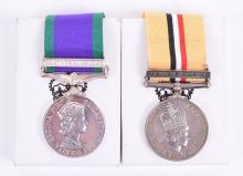 Northern Ireland & 2003 Iraq War Medal Pair Parachute Regiment