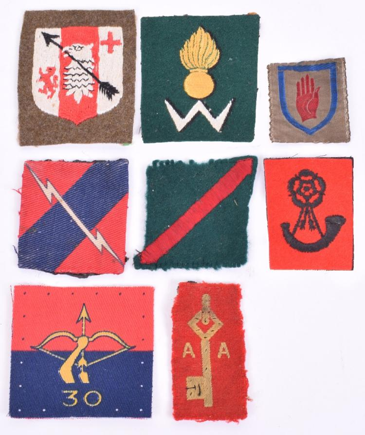 Selection of Royal Artillery Anti-Aircraft Formation Signs