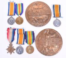 Great War Medals of the Hingley Family