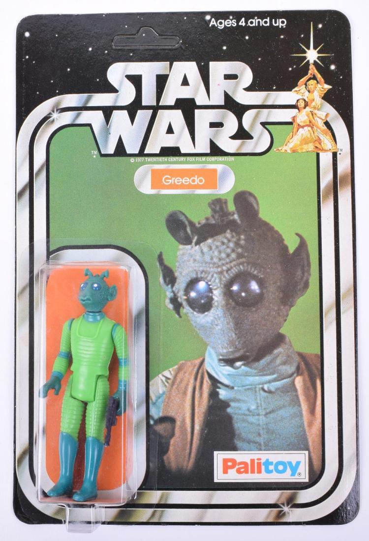 Palitoy Star Wars Greedo Vintage Original Carded Figure