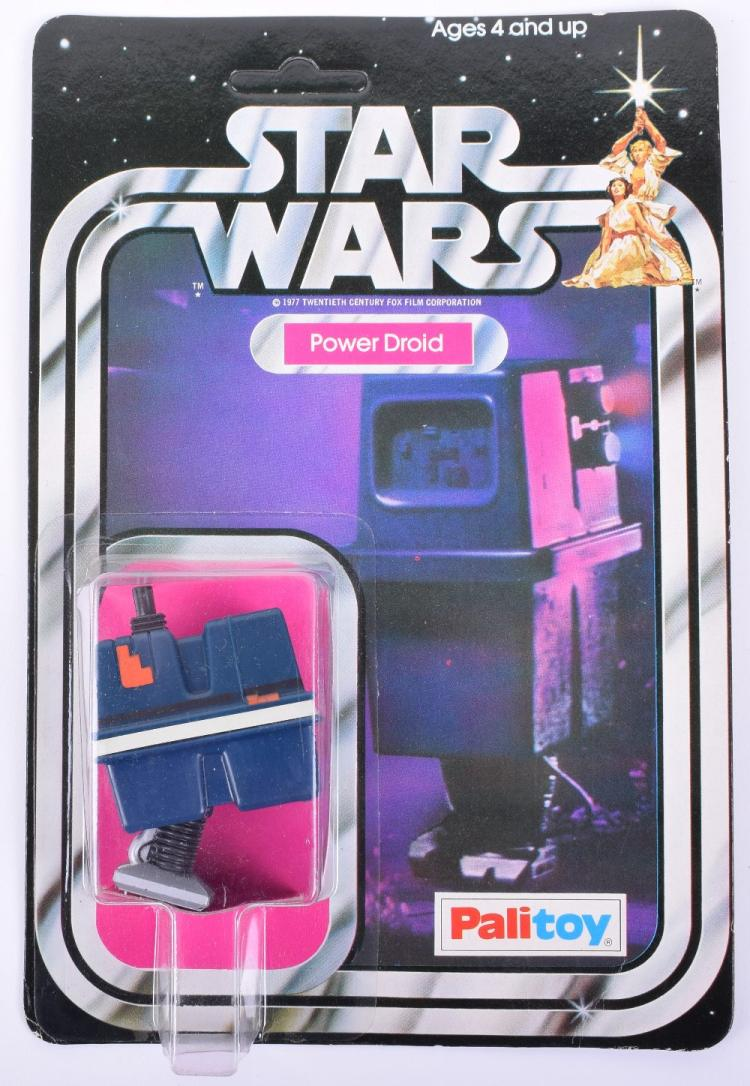 Palitoy Star Wars Power Droid Vintage Original Carded Figure
