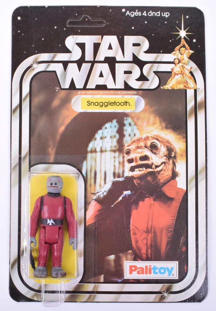 Palitoy Star Wars Snaggletooth Vintage Original Carded Figure