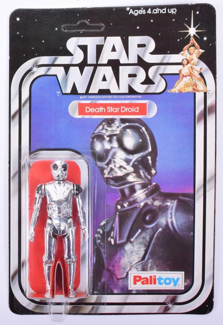 Palitoy Star Wars Death Star Droid Vintage Original Carded Figure
