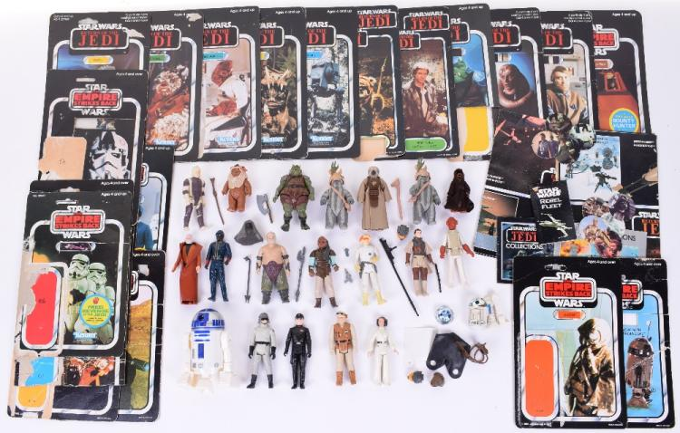 Selection of Vintage Star Wars Action Figures
