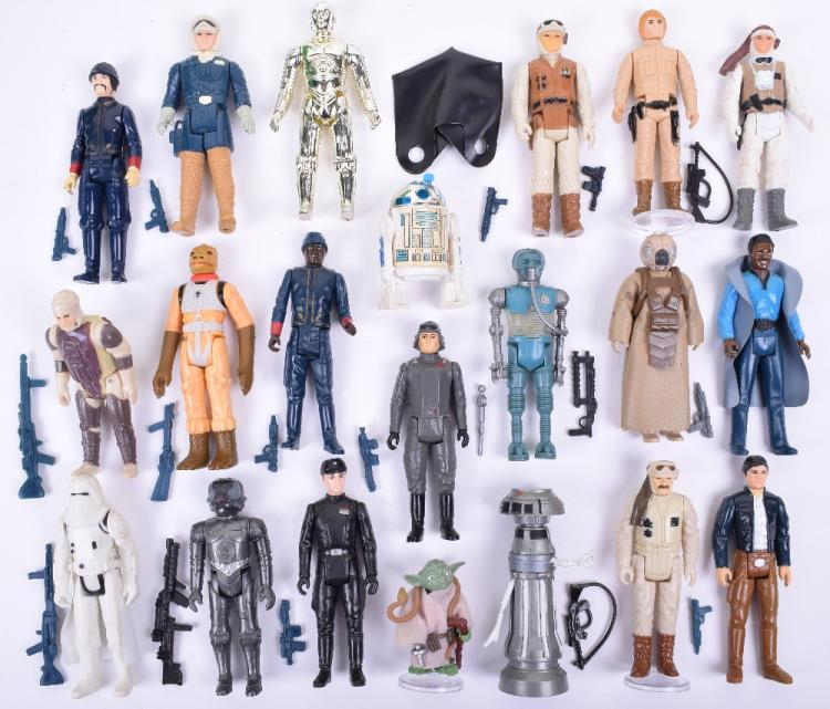 Selection of Vintage Star Wars Empire Strikes Back Loose Complete Action Figures