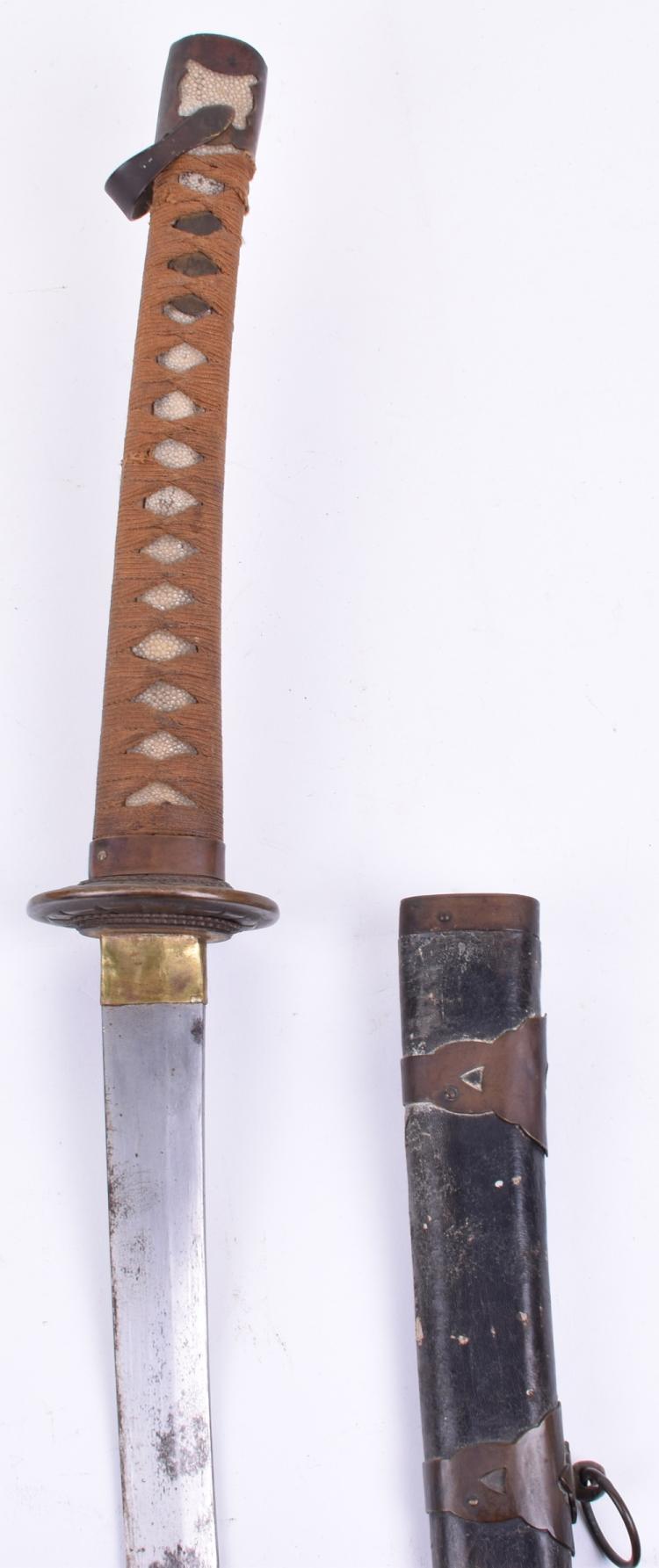 Late WW2 Japanese Officers Sword Katana