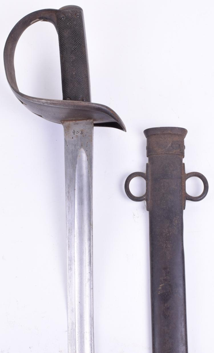 1890 Pattern British Cavalry Troopers Sword