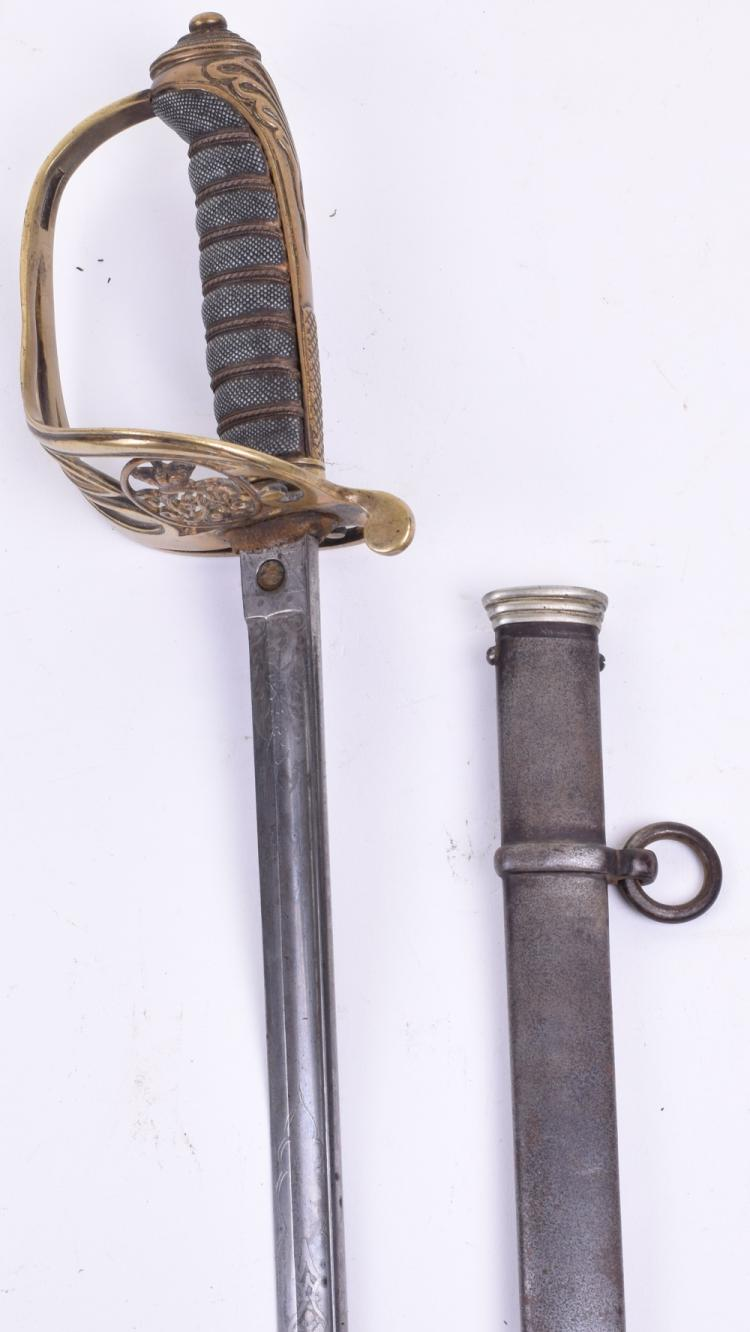 1845 Pattern Infantry Officers Piquet Weight Sword