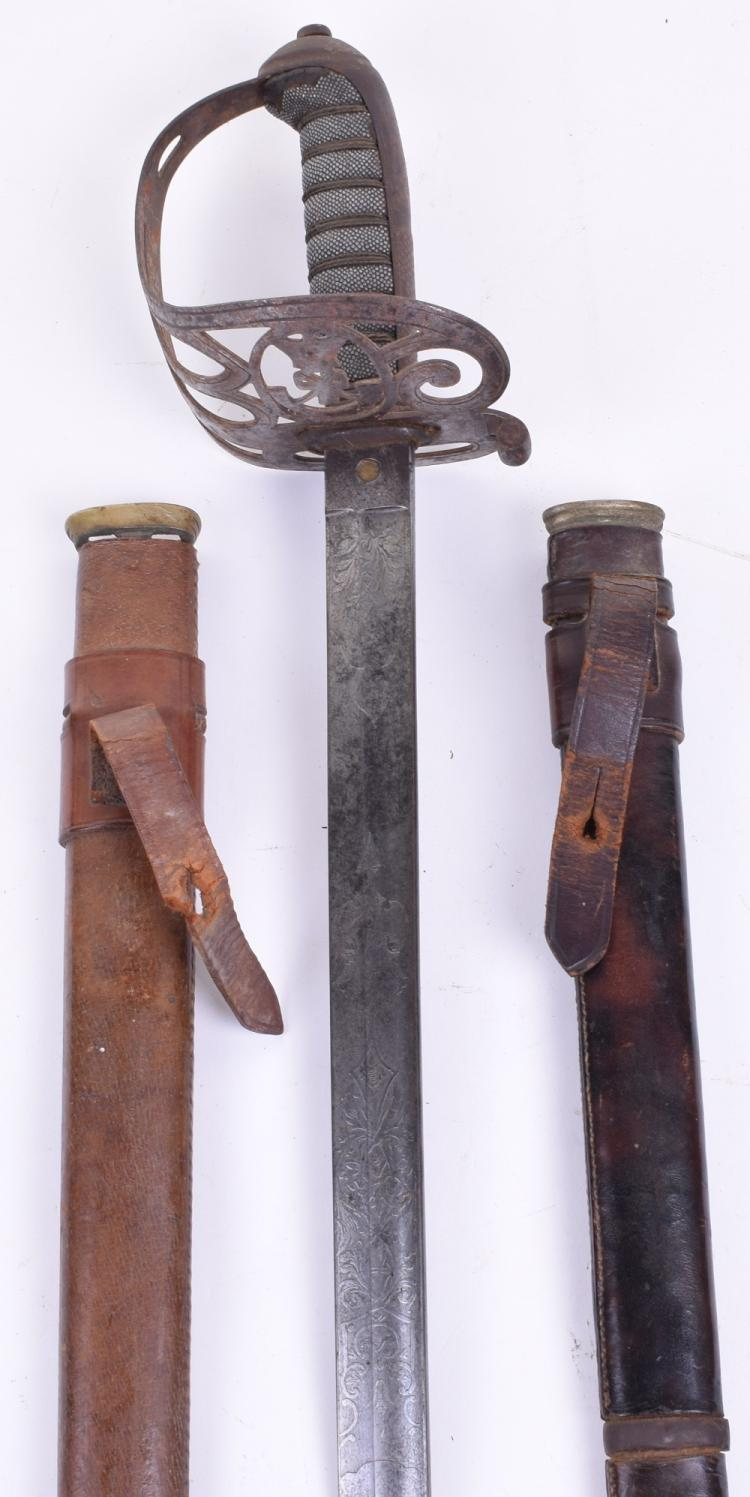 Victorian 1827 Pattern Rifle Officers Sword