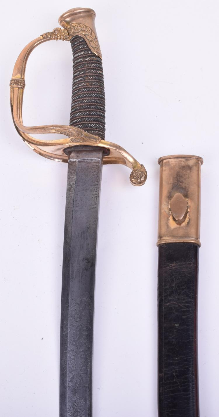 American Civil War Period Infantry Officers Sword