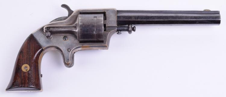 Good 6-shot Single Action Rim Fire Revolver by Merwin & Bray, New York