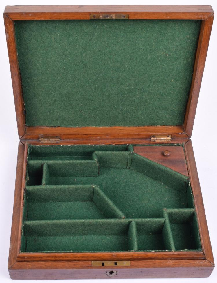Oak Percussion Pistol Case